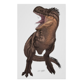 Rex del Tyrannosaurus Posters