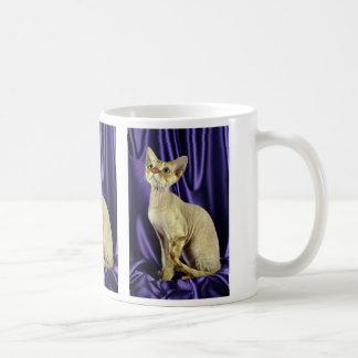 Rex, Devon, red tabby Classic White Coffee Mug