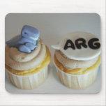 Rex dice ARG Mousepad Alfombrillas De Ratón