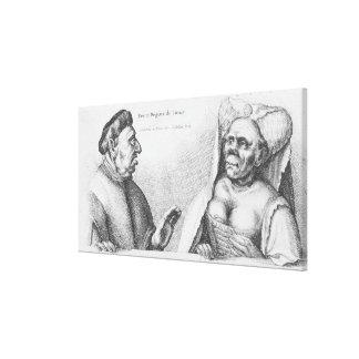 Rex et Regina de Tunis Stretched Canvas Print