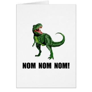Rex Nom Nom Card