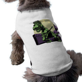 Rex punky playera sin mangas para perro