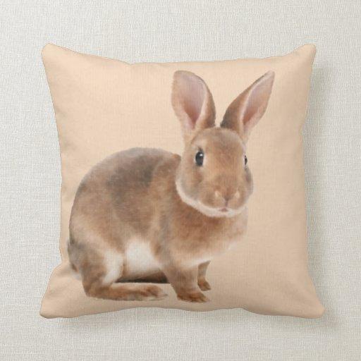 Decorative Pillows With Rabbits : Rabbit Pillows, Rabbit Throw Pillows