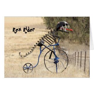 Rex Rider Card