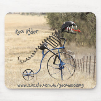 Rex Rider Mouse Pad