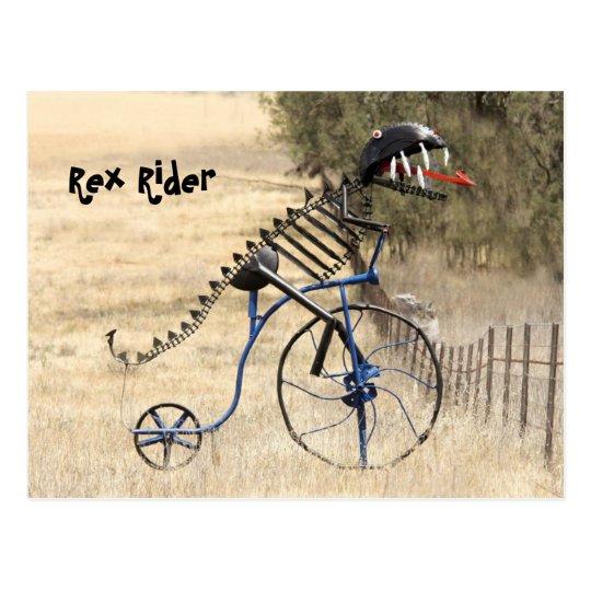 Rex Rider Postcard