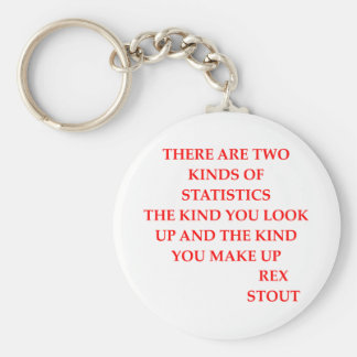 rex stout quote keychain