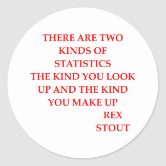 rex stout quote stickers
