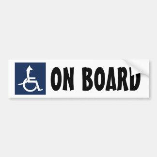 Rex Wheelchair Bumper Sticker