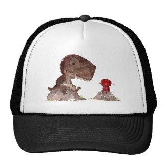 Rex y rojo gorros bordados