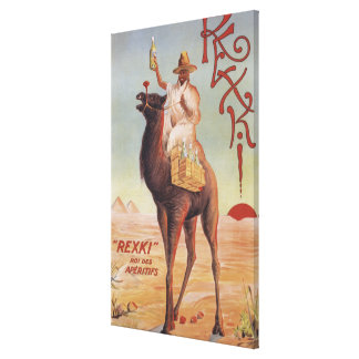 Rexki - King of Before Dinner Liqueurs Canvas Print