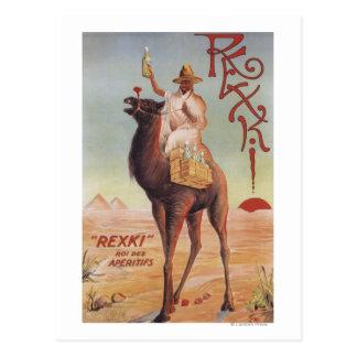 Rexki - King of Before Dinner Liqueurs Postcard