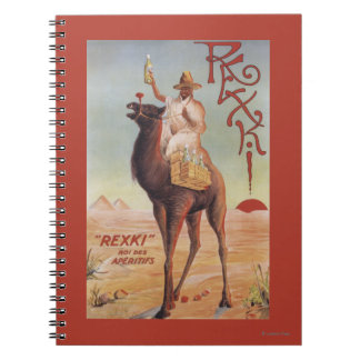 Rexki - King of Before Dinner Liqueurs Spiral Notebook