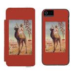 Rexki - rey antes de los licores de la cena funda billetera para iPhone 5 watson