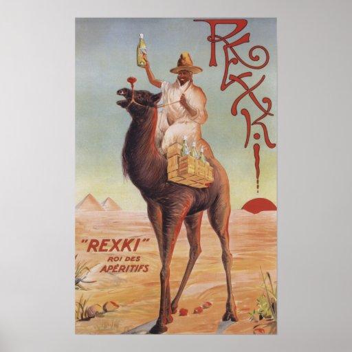 Rexki - rey antes de los licores de la cena póster