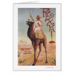 Rexki - rey antes de los licores de la cena tarjeta de felicitación
