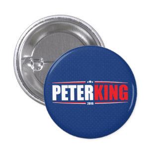 Rey 2016 de Peter (estrellas y rayas - azul) Pin