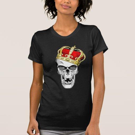 Rey 3 del cráneo camiseta