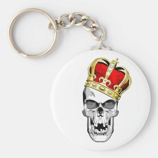 Rey 3 del cráneo llaveros