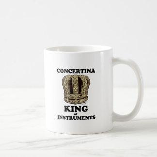 Rey acordeón de instrumentos taza clásica