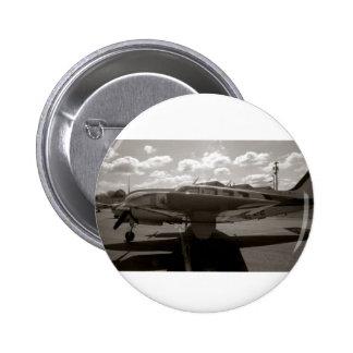 Rey Air Button de la haya Pin Redondo De 2 Pulgadas