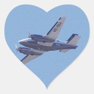 Rey Air de la haya B90 Pegatina En Forma De Corazón