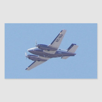 Rey Air de la haya B90 Pegatina Rectangular