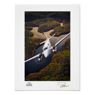 Rey Air Over Water Gallery Impresiones