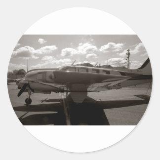 Rey Air Sticker de la haya Etiquetas Redondas