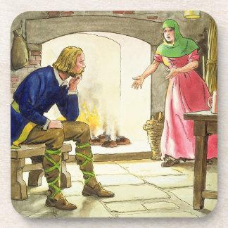Rey Alfred 849-99 que quema las tortas del pío Posavasos De Bebida
