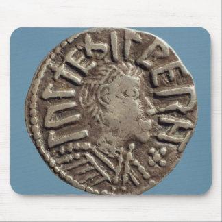 Rey anglosajón East Anglia de Aethelberht del peni Alfombrilla De Raton