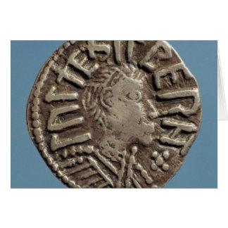 Rey anglosajón East Anglia de Aethelberht del peni Felicitacion