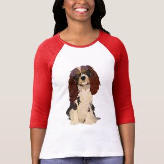 Rey arrogante Charles Dog Camisetas
