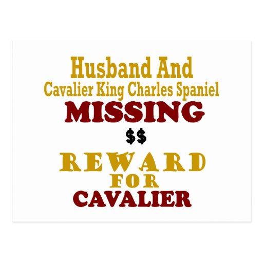 Rey arrogante Charles y recompensa que falta FO de Postales