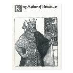 Rey Arturo de Gran Bretaña Tarjeta Postal