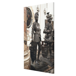 Rey Arturo, estatua de la tumba de Maximiliano Impresiones En Lona