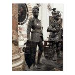 Rey Arturo, estatua de la tumba de Maximiliano Tarjetas Postales