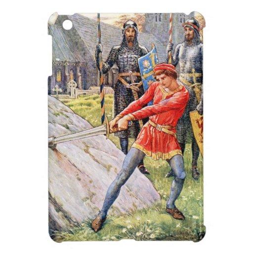 Rey Arturo extrae la espada de la piedra