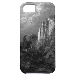 Rey Arturo y Camelot de Gustave Doré 1868 iPhone 5 Case-Mate Fundas