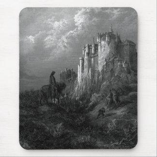 Rey Arturo y Camelot de Gustave Doré 1868 Alfombrillas De Ratones