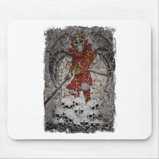 Rey asustadizo Evil Grave de la piedra de la tumba Mousepads