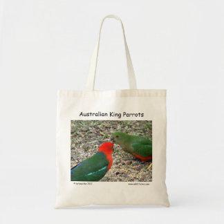 Rey australiano Parrots Bolsas Lienzo