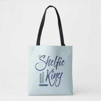 Rey azul Bookish de Shelfie Bolsa De Tela