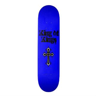 Rey azul de reyes Skateboard Deck Patín