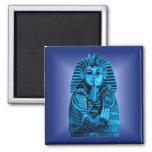 Rey azul Tut #2 Iman De Frigorífico