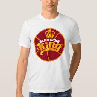Rey Basketball Logo T-shirt de la clavada Playera
