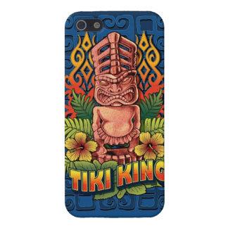 Rey Blue de Tiki iPhone 5 Fundas