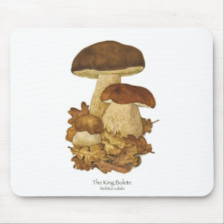 Rey Bolete Mushroom Mousepad Tapete De Raton