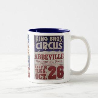 Rey Bros. Circo Tazas De Café