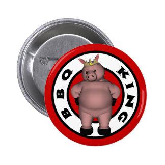 Rey Button del Bbq Pin Redondo De 2 Pulgadas